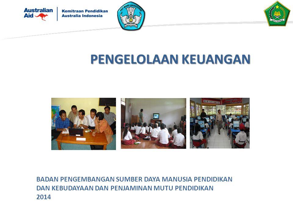 PENDAHULUAN Tahun anggaran 2013 sd Tahun Anggaran 2016, Pemerintah Australia memberikan dana hibah kepada Pemerintah Indonesia untuk melaksanakan program Professional Development For Education Personnel (ProDEP).