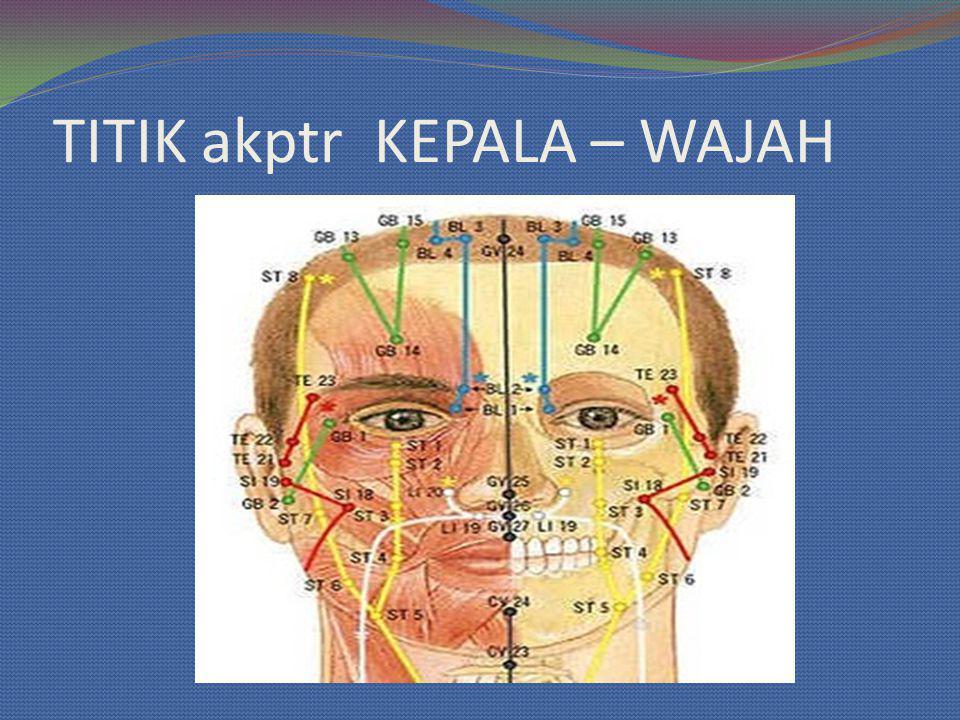 TITIK akptr KEPALA – WAJAH