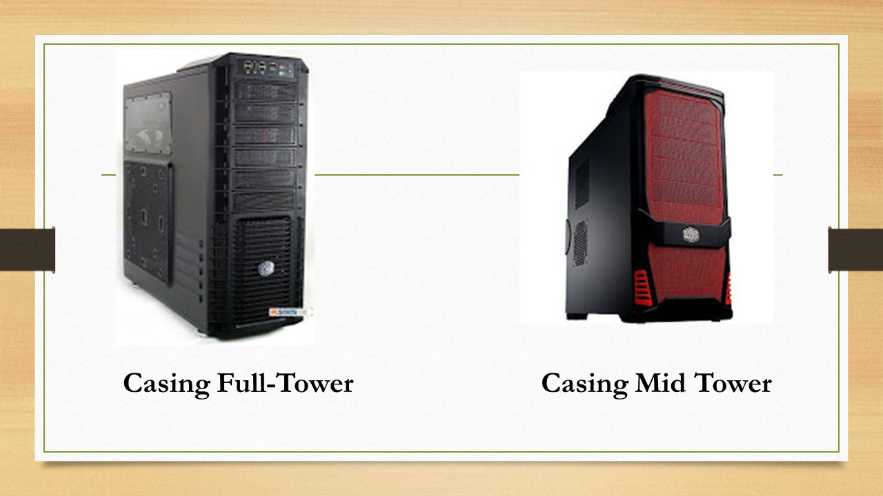 Casing Full-TowerCasing Mid Tower