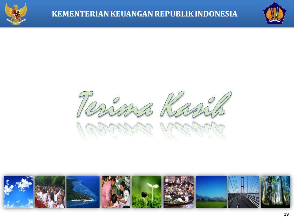 19 KEMENTERIAN KEUANGAN REPUBLIK INDONESIA