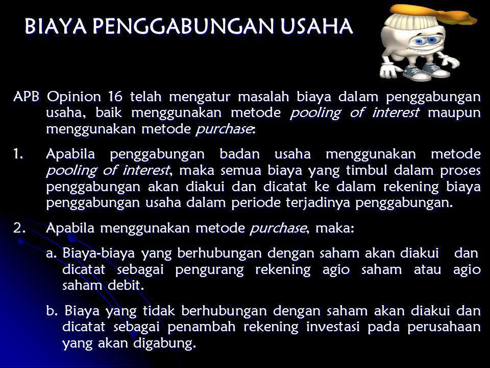 Rekening PT.ALI PT. BADU Nilai Wajar PT.