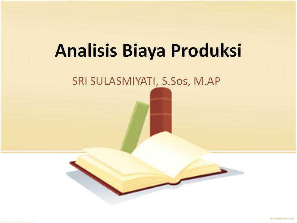 MODUL 2OPTIMISASI EKONOMI Ari Darmawan, Dr., S.AB, M.AB aridarmawan_fia@ub.ac.id