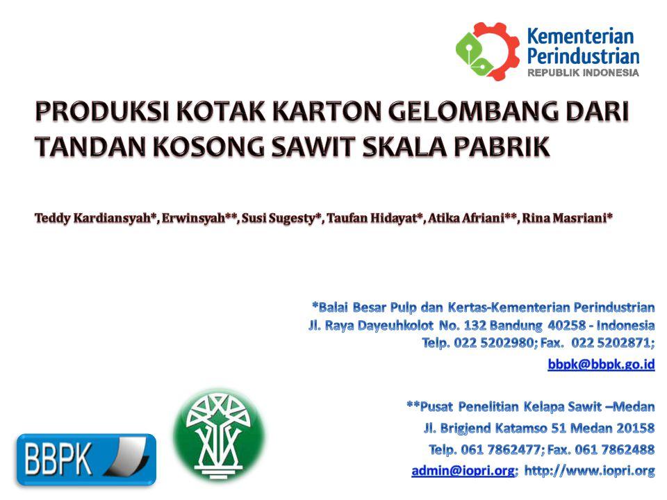 Latar Belakang Indonesia rangking 6 dunia untuk industri kertas.