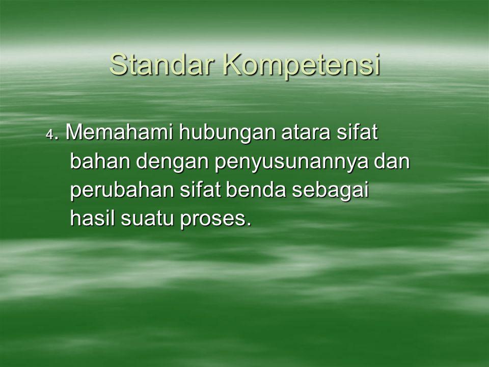 Standar Kompetensi 4.