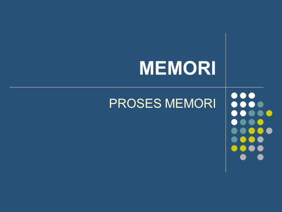 MEMORI PROSES MEMORI