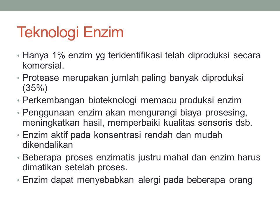 Produksi Enzim dari Mikroorganisme Dikenal enzim intraseluler dan ekstraseluler.