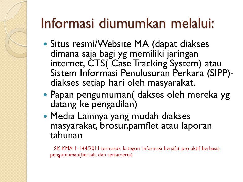 3 Tugas Penanggungjawab Informasi(Kasub/St Eslon IV) Memastikan ketersediaan & kemutakhiran informasi di unit kerjanya; Membantu PPID & Petugas Inform