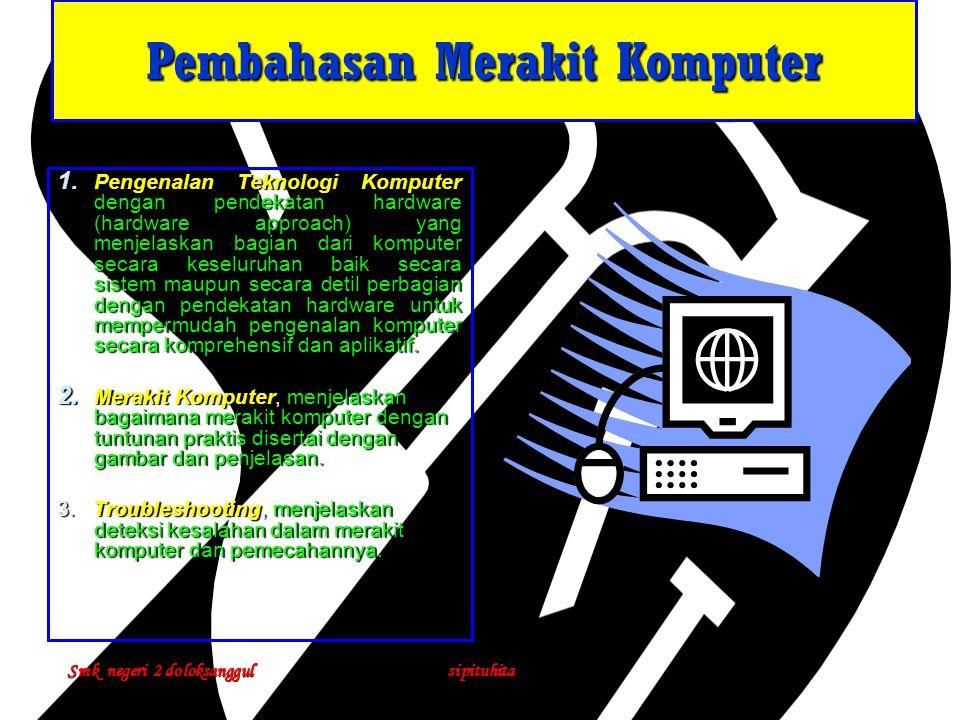 Merakit Komputer Mudah & Cepat 1.CPU ( Central Processing Unit ) /Processor 2.