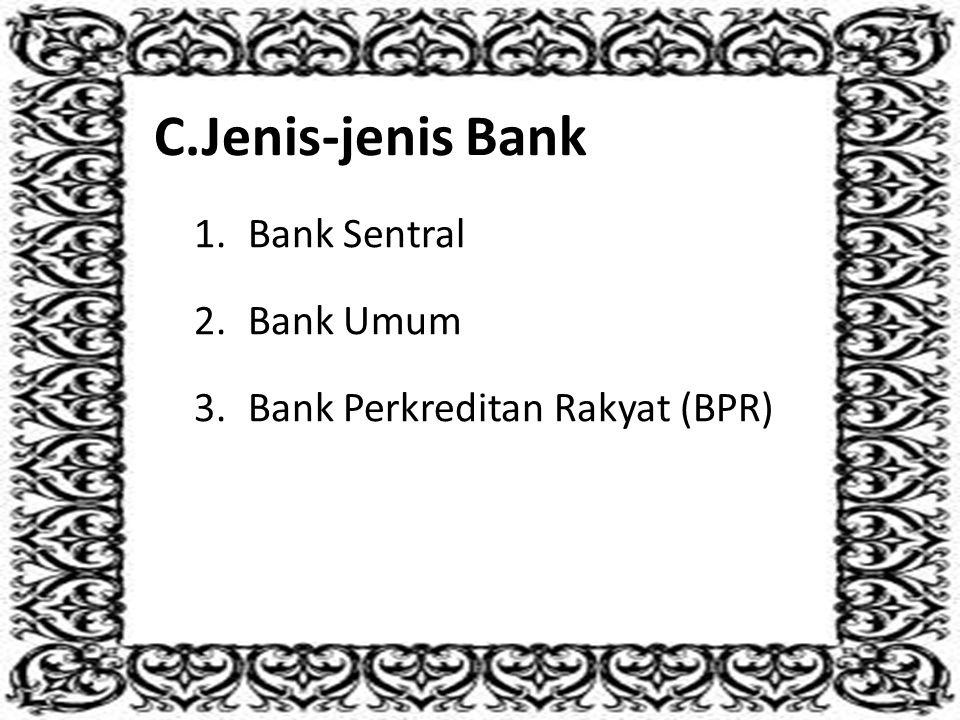 Sesuai dengan fungsi dan tujuan bank, ada 3 tugas utama bank yang juga dikenal dengan produk-produk bank, yaitu: 1.Bank sebagai penghimpun dana masyarakat (kredit pasif) 2.Bank sebagai penyalur dana masyarakat (kredit aktif) 3.Bank sebagai perantara dalam lalu lintas pembayaran
