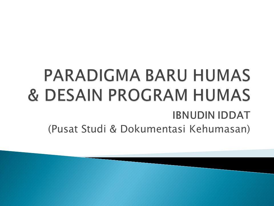 IBNUDIN IDDAT (Pusat Studi & Dokumentasi Kehumasan)