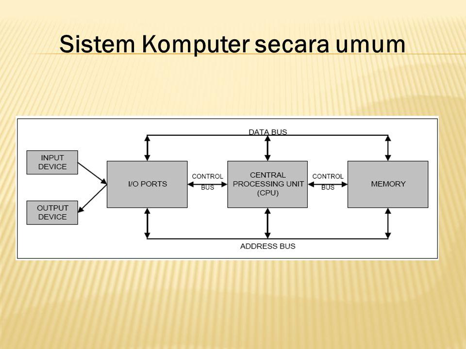 Sistem Komputer secara umum