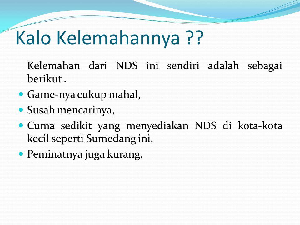 Contoh dari NDS !!