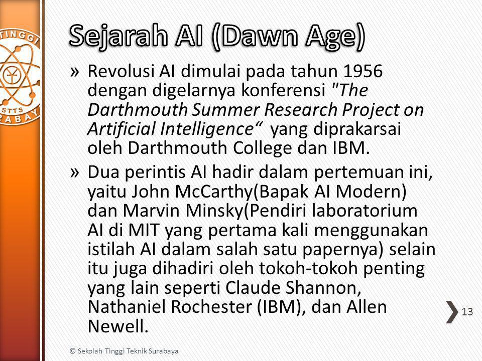 » Revolusi AI dimulai pada tahun 1956 dengan digelarnya konferensi