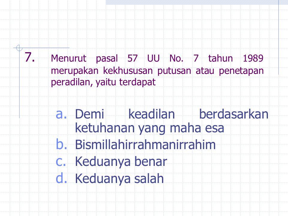 28.Upaya hukum banding menurut pasal 7 (4) UU no.