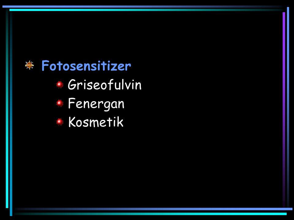 Fotosensitizer Griseofulvin Fenergan Kosmetik