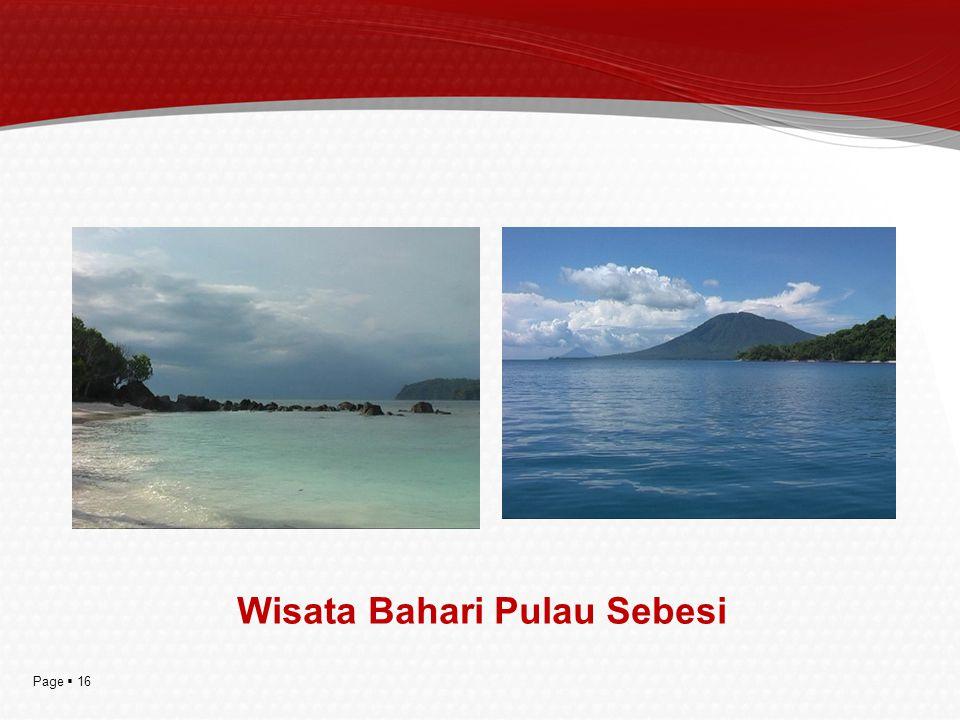 Page  16 Wisata Bahari Pulau Sebesi