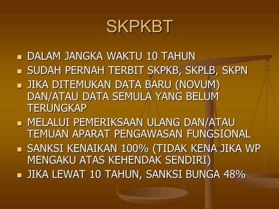 Permohonan diajukan sebelum terbit SKPLB – bareng SPT masuk (Psl.
