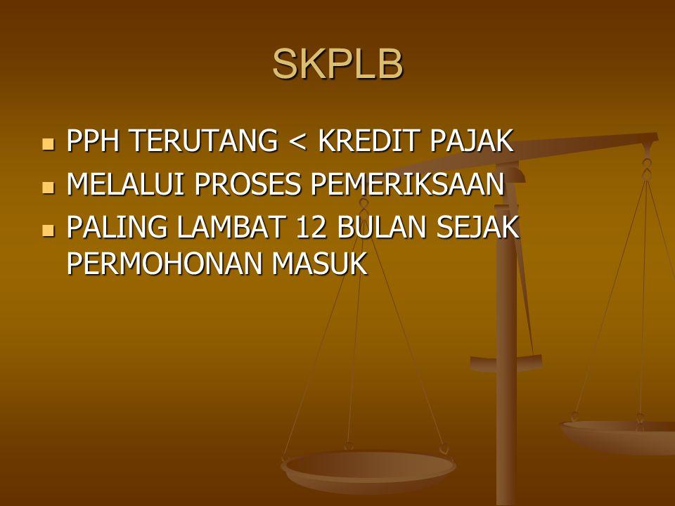 STP PPH DALAM TAHUN BERJALAN TIDAK/KURAN DIBAYAR PPH DALAM TAHUN BERJALAN TIDAK/KURAN DIBAYAR HASIL PENELITIAN SPT TERDAPAT KURANG BAYAR AKIBAT SALAH TULIS/SALAH HITUNG HASIL PENELITIAN SPT TERDAPAT KURANG BAYAR AKIBAT SALAH TULIS/SALAH HITUNG KENA SANKSI ADM.