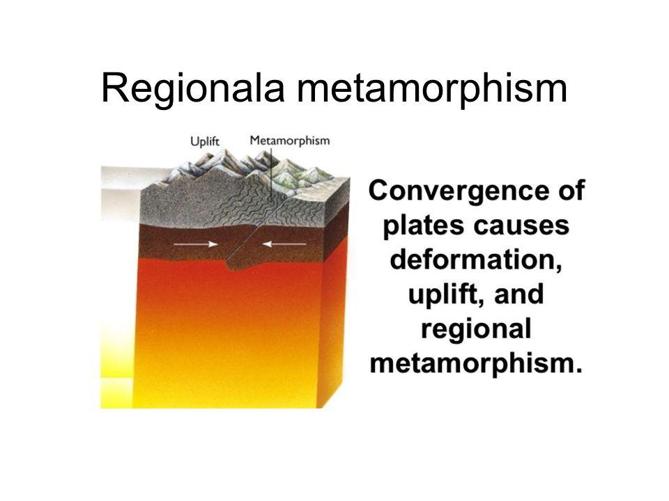 Regionala metamorphism