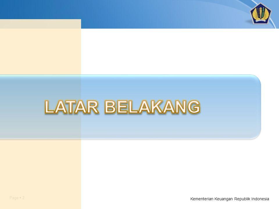 Page  2 Kementerian Keuangan Republik Indonesia