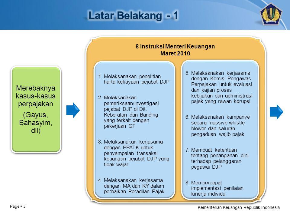 Page  3 Kementerian Keuangan Republik Indonesia
