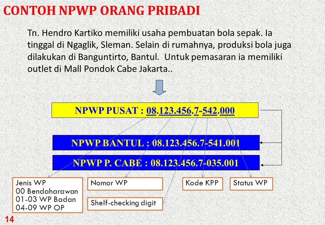 Apabila orang pribadi atau badan yang telah memenuhi syarat sebagai WP/PKP tetapi tidak mendaftarkan diri dan/atau tidak melaporkan usahanya DIRJEN PA