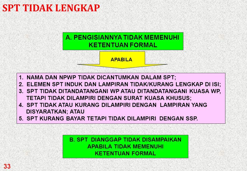 a. Dalam Bahasa Indonesia b.Huruf latin c. Menggunakan angka Arab d.Satuan mata uang rupiah (Kecuali WP yang telah mendapat izin Menkeu untuk menyelen