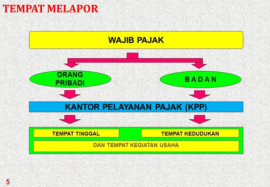 WP (Wajib Pajak) yang telah memenuhi syarat subjektif dan objektif harus mendaftarkan diri untuk memperoleh NPWP. Syarat subjektif, misalnya:  OP yan