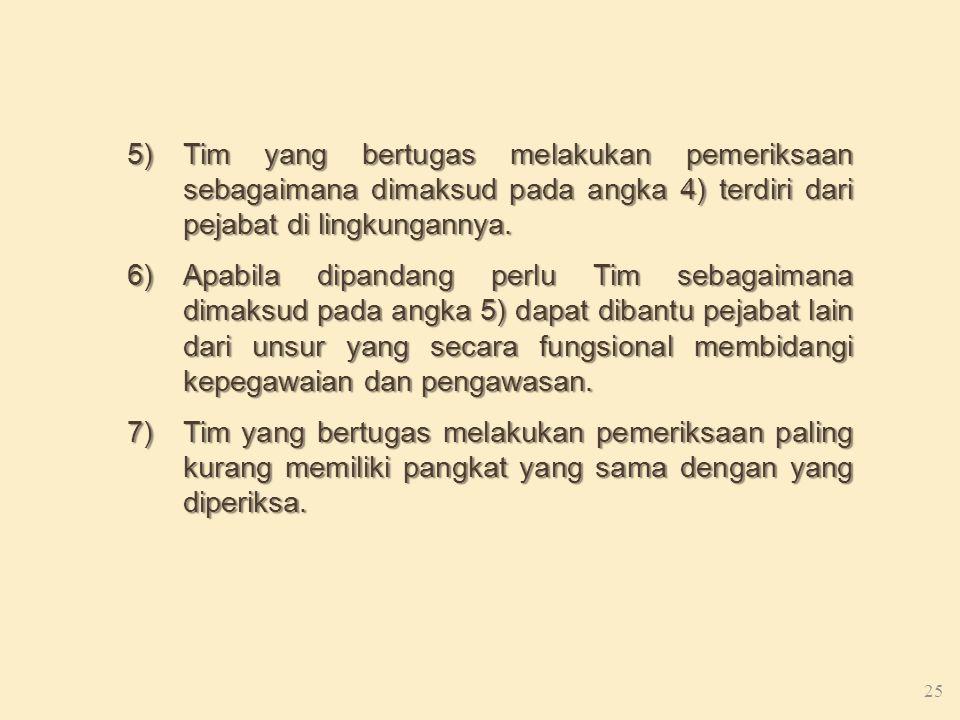 TATA CARA PEMERIKSAAN PENJATUHAN, DAN PENYAMPAIAN KEPUTUSAN HUKUMAN DISIPLIN 1)Pegawai Negeri Sipil yang diduga melakukan pelanggaran disiplin dipangg