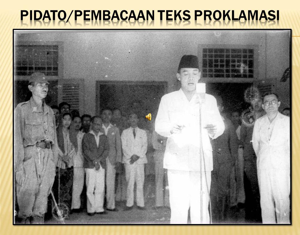 8 Proklamasi dalam foto
