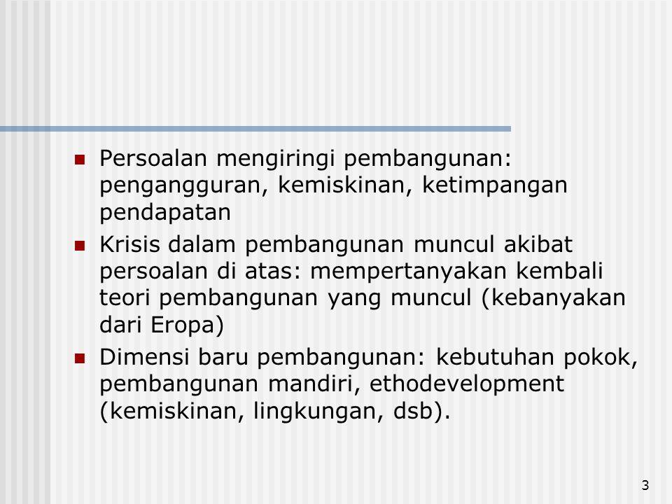 14 Paradigma Baru Dalam Pembangunan 3.