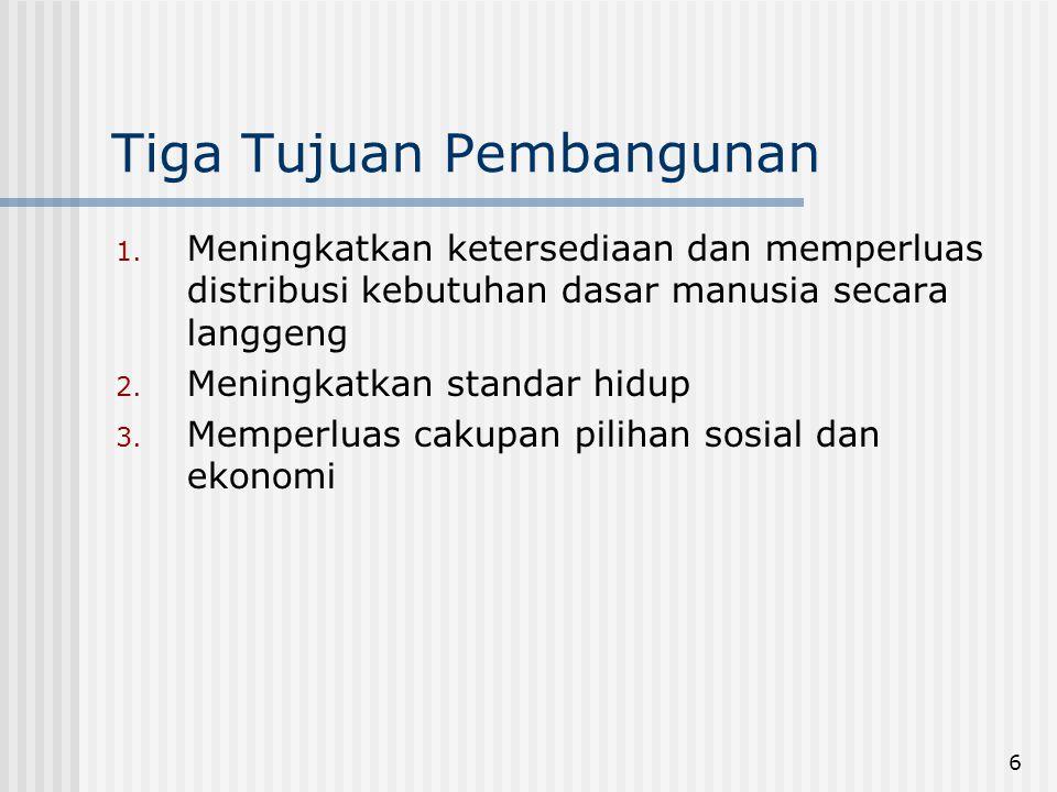 7 PEMBANGUNAN DI INDONESIA Orde Baru: Sentralistik oleh Bapennas Dijabarkan dalam Repelita Daerah menerima alokasi anggaran dan program Dirasa bukan pembangunan daerah seutuhnya melainkan pembangunan di daerah Apakah yang dilakukan Orde Baru akan berlanjut.