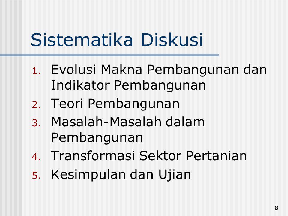 49 Gini Ratio di Indonesia, 1978-2002 YearUrbanRuralUrban&Rural 19780.380.340.38 19800.360.310.34 19810.330.290.33 19840.320.280.33 19870.320.260.32 19900.340.250.32 19930.330.260.335 1996--0.356 1999--0.308 2002--0.329 Source: Expenditure for Consumption of Indonesia per Provine, BPS, Indonesia, beberapa tahun