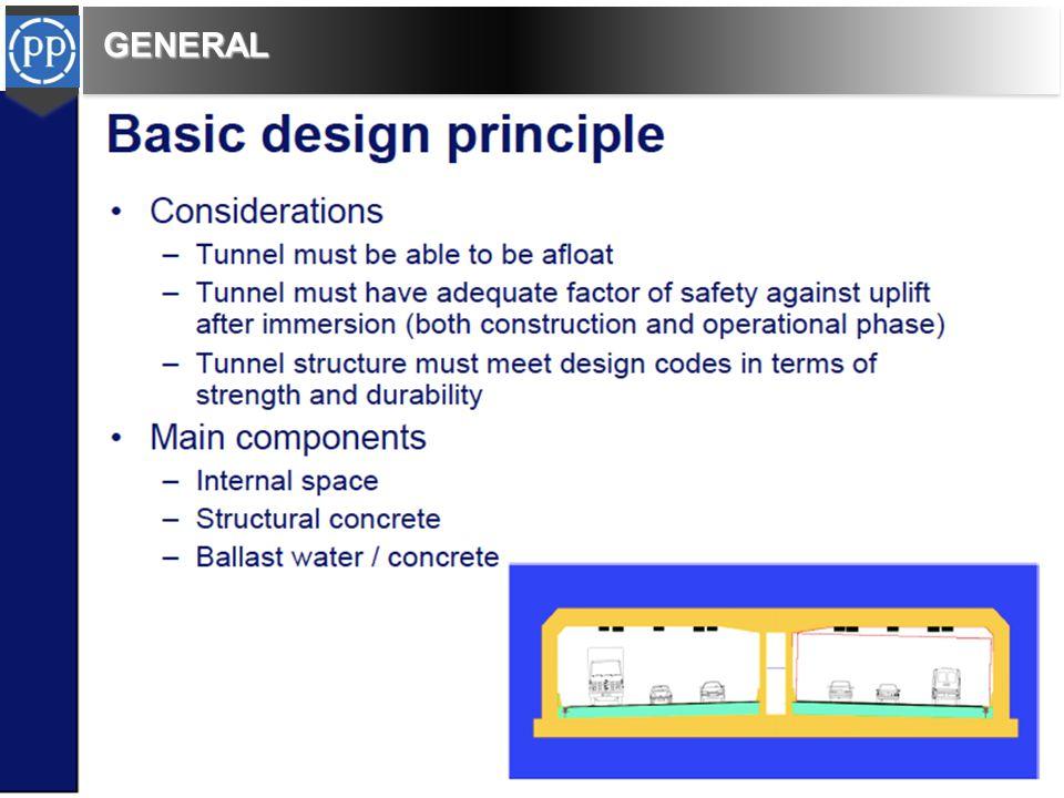 THE CHARACTERISTIC OF IMMERSED TUNNELS Bila di bandingkan dengan jembatan, bore tunnels konstruksi immersed tunnels memiliki potensi lebih murah, lebih cepat dan lebih aman.