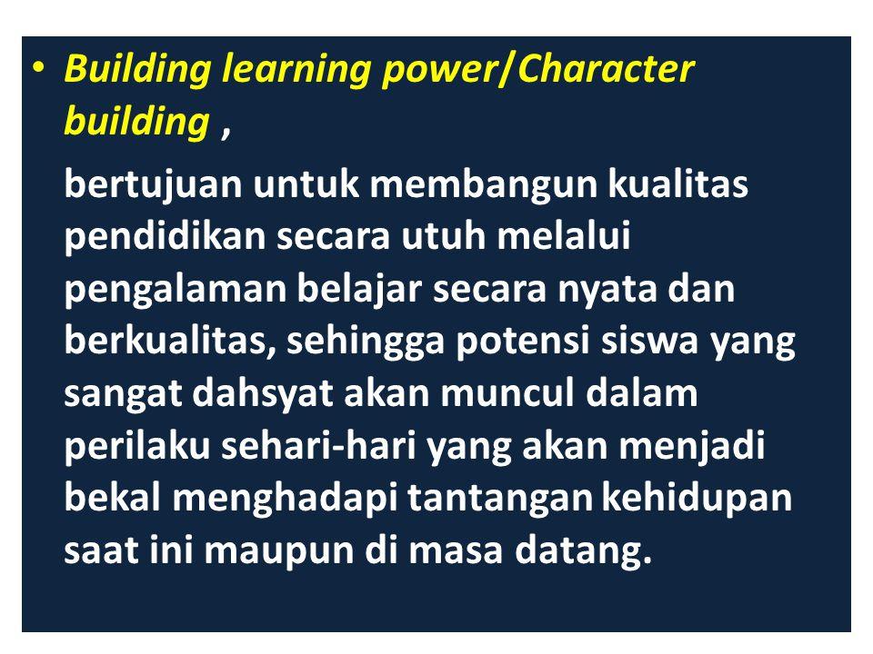 Making change happened bertujuan untuk menyelaraskan antara visi sekolah-skills- Incentives-Resources-Action Plan, sehingga diharapkan perubahan sekol