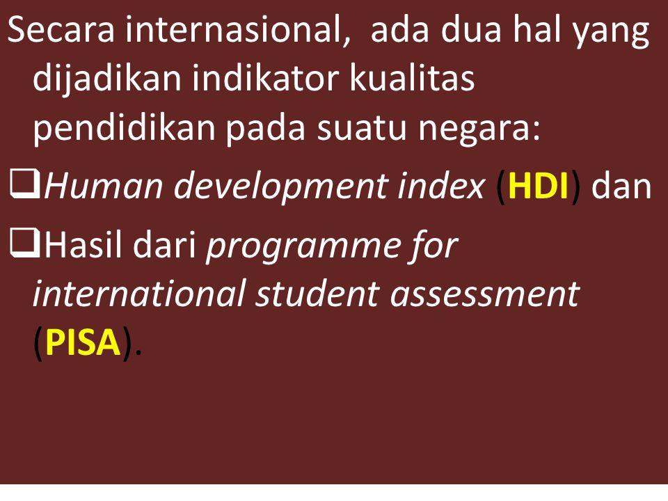 Salah satu permasalahan pendidikan adalah masalah kualitas pendidikan.