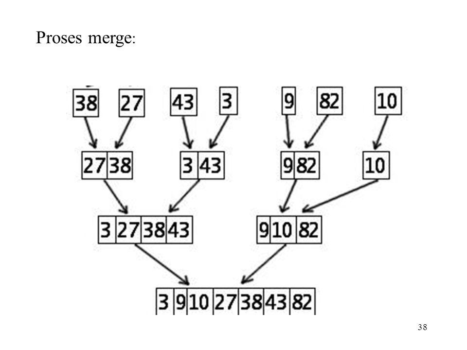 38 Proses merge :