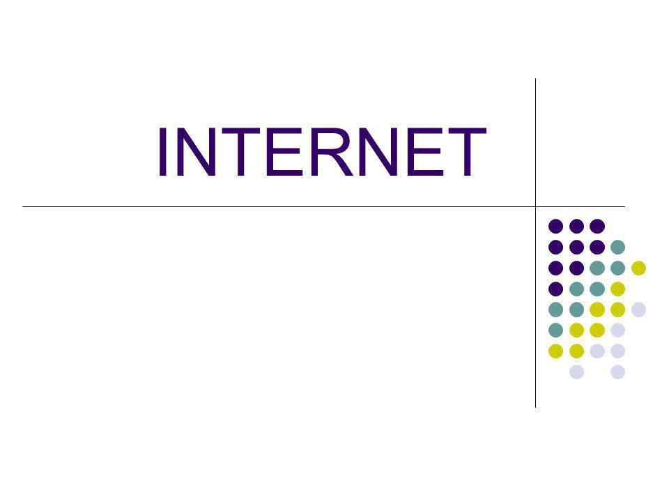 PENGERTIAN INTERNET Interconnected Network - atau Internet adalah sebuah sistem komunikasi global yang menghubungkan komputer-komputer dan jaringan-jaringan komputer di seluruh dunia.