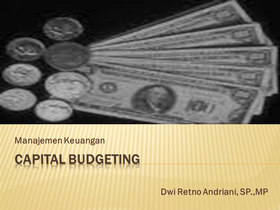 Manajemen Keuangan Dwi Retno Andriani, SP.,MP