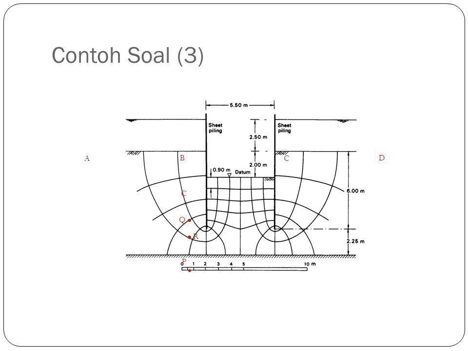 Contoh Soal (3) B C Q P R A D C