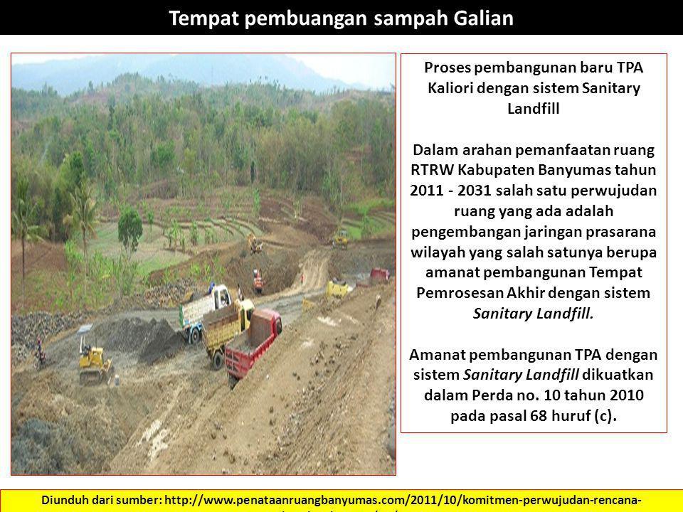 Diunduh dari sumber: http://www.penataanruangbanyumas.com/2011/10/komitmen-perwujudan-rencana- struktur.html ….. 31/10/2012 Tempat pembuangan sampah G