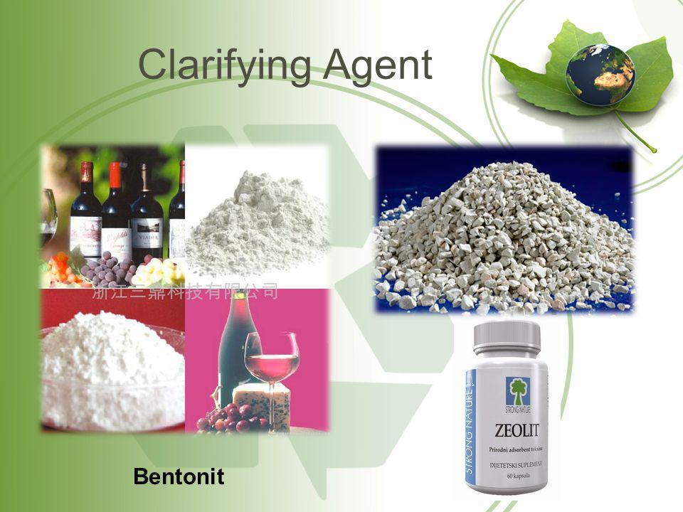 Clarifying Agent Bentonit
