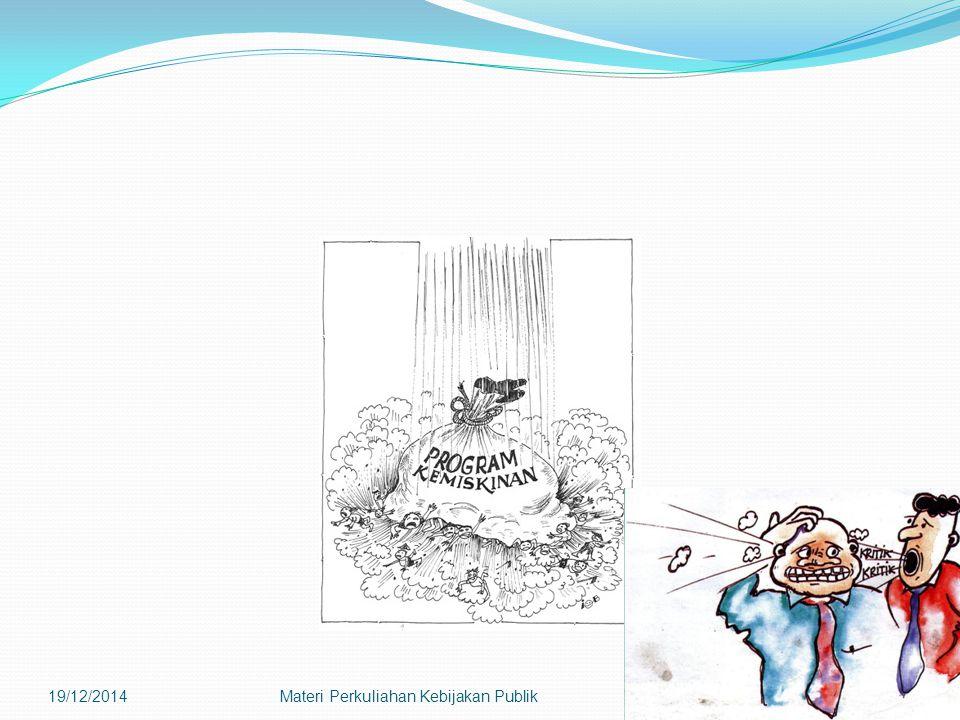 19/12/2014Materi Perkuliahan Kebijakan Publik37
