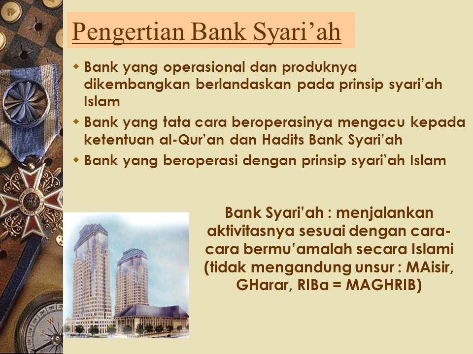 Menurut Kepemilikannya, bank terdiri dari : 1. Bank Pemerintah / Bank Negara, bank yang bagian saham terbesarnya dimiliki oleh pemerintah atau negara.