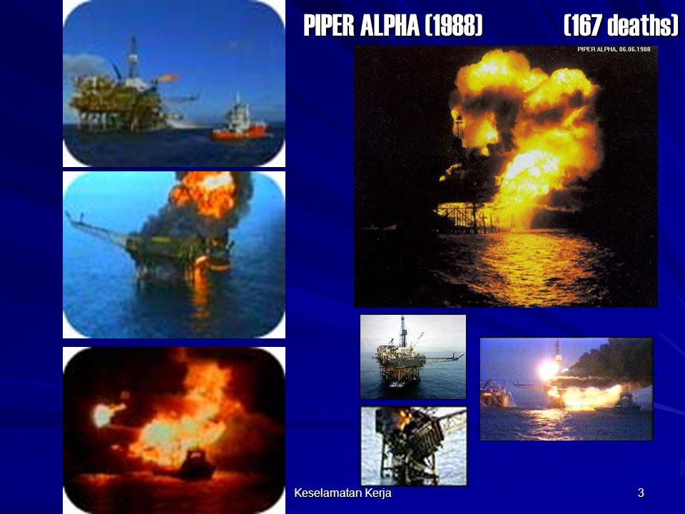 Keselamatan Kerja 3 (167 deaths) PIPER ALPHA (1988)