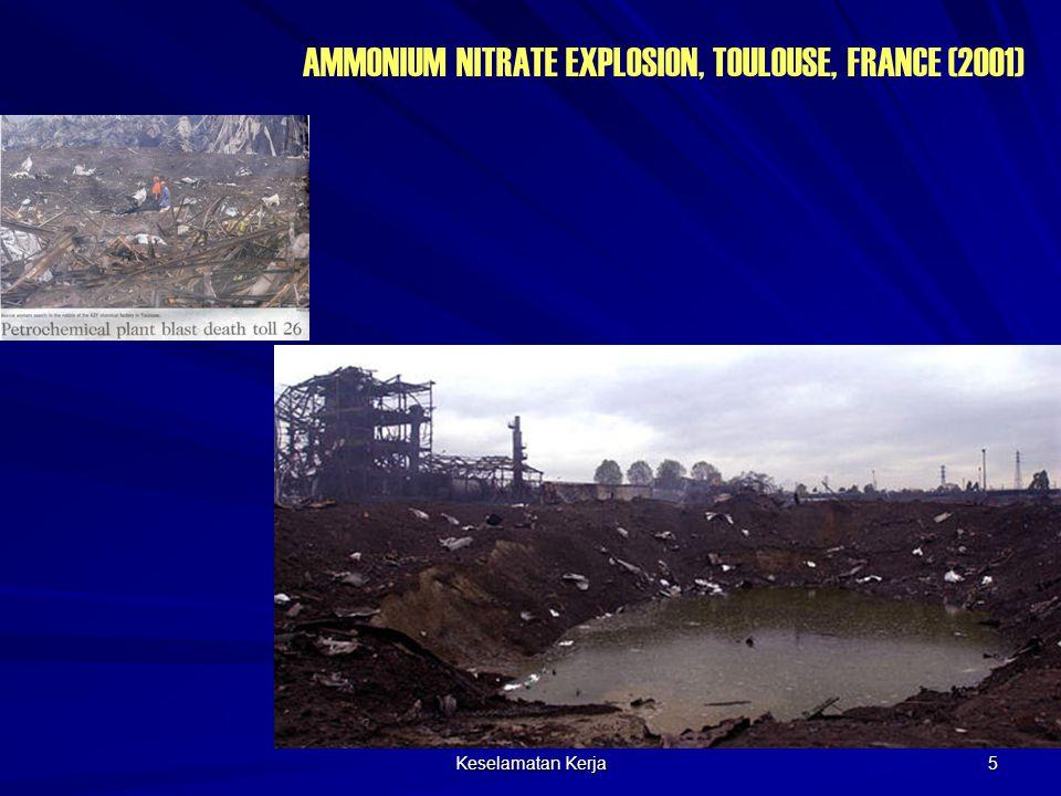 Keselamatan Kerja 5 AMMONIUM NITRATE EXPLOSION, TOULOUSE, FRANCE (2001)