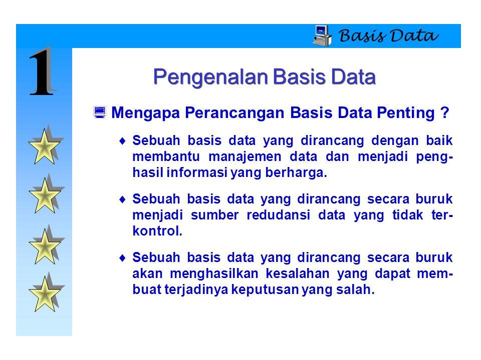 1 1 Basis Data Asal-Usul Sejarah  Mengapa Mempelajari Sistem File.