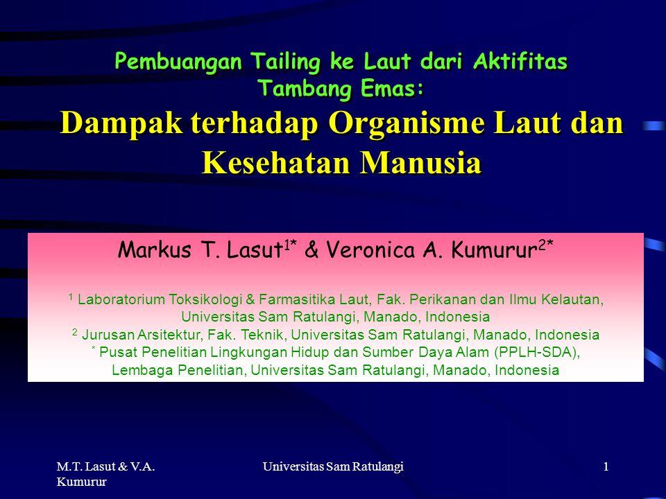 M.T.Lasut & V.A.