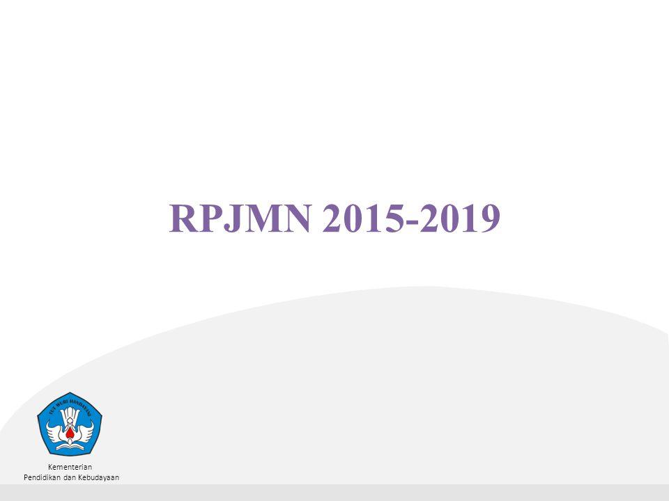 Kementerian Pendidikan dan Kebudayaan RPJMN 2015-2019