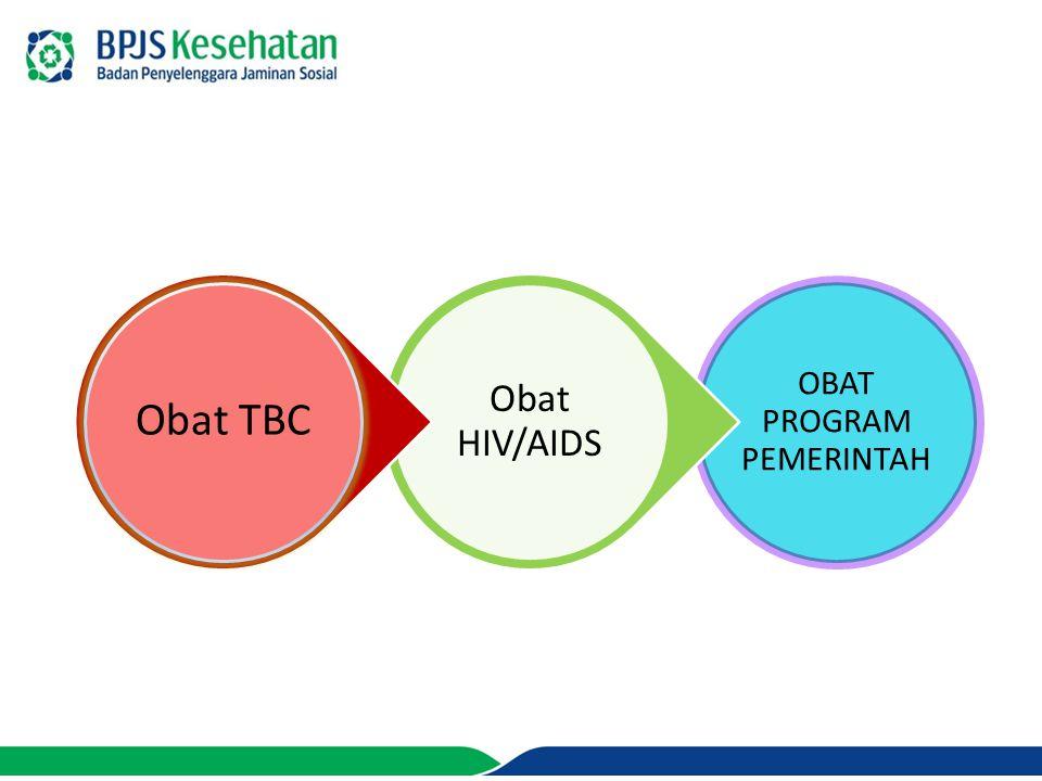 OBAT PROGRAM PEMERINTAH Obat HIV/AIDS Obat TBC